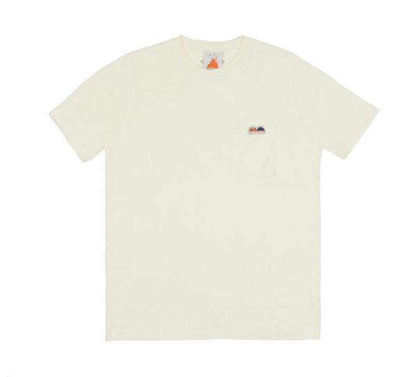 Camiseta Pedro Gómez Madrid Igloo Pocket Beige