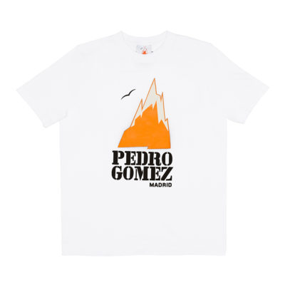 Camiseta Pedro Gómez Madrid Basic Logo White