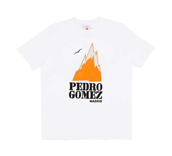 Camiseta Pedro Gómez Madrid Basic Logo White