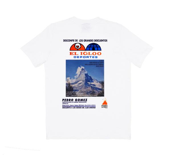 Camiseta Pedro El Igloo Blanco