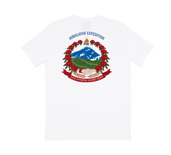 Camiseta Pedro Nepal Blanco