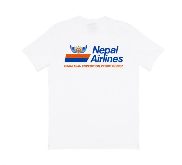 Camiseta Pedro Nepal Airlines Blanco