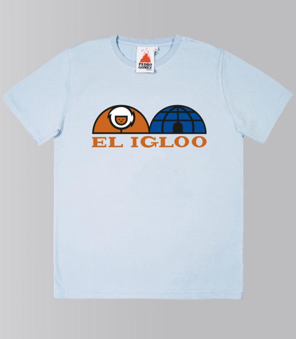 Camiseta Pedro Gómez Basic Igloo Blue Sky