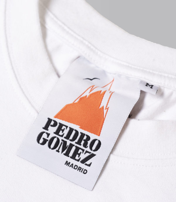 Camiseta Pedro Gómez Basic Igloo White