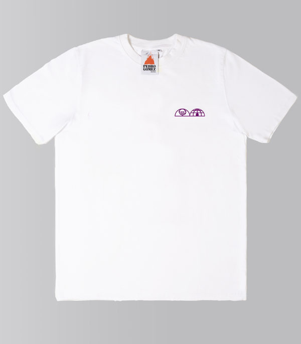 Camiseta Pedro Gómez Magnetic Compass Igloo White