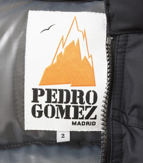 Chaleco Lodge Negro Carrara Plata