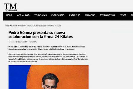 Pedro Gómez en TM