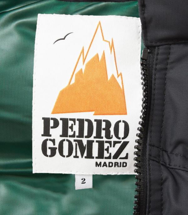 Chaleco Lodge Negro Carrara Verde